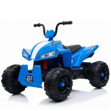 Детский квадроцикл RiverToys T555TT синий
